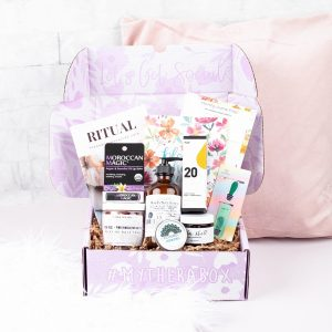 Last-Minute Christmas Gifts - TheraBox - Self Care Subscription Box