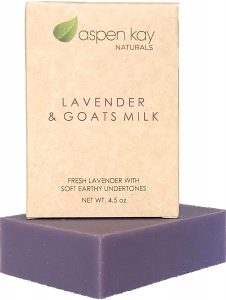 Lavender Goats Milk Soap Bar