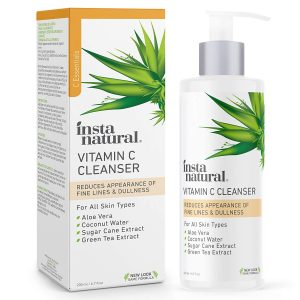 Best Face Gels  - InstaNatural Facial Vitamin C Face Wash