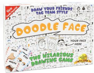 Teens Gift Ideas - Doodle Face Game