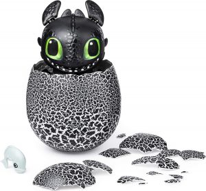 Best Boys Gifts - Dreamworks Dragons, Hatching Toothless Interactive Baby Dragon with Sounds