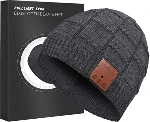 Teens Gift Ideas - Upgraded Bluetooth Beanie Hat with Headphones