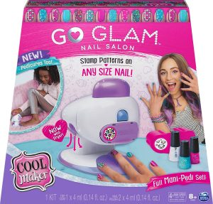Cool Maker, GO Glam Nail Stamper Salon for Manicures and Pedicures