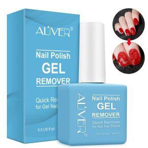 Quick & Easy Gel Polish Remover - No Need For Foil, Soaking Or Wrapping 0.5 Fl Oz.