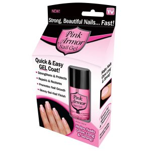 Pink Armor Nail Gel As Seen On TV Personal Healthcare/Health Care